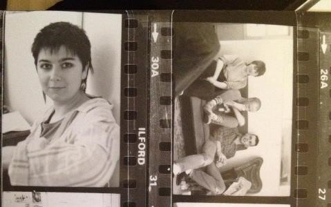 Framed Youth contact sheet cropped